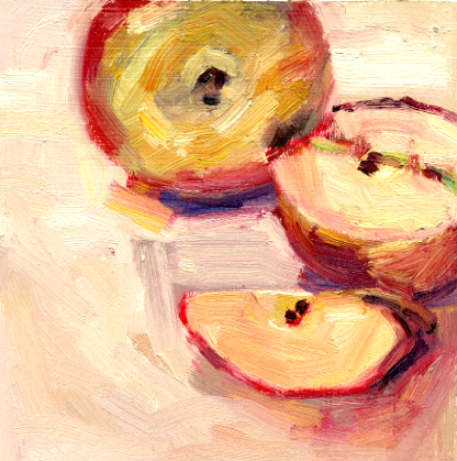 Apples (Available painting)