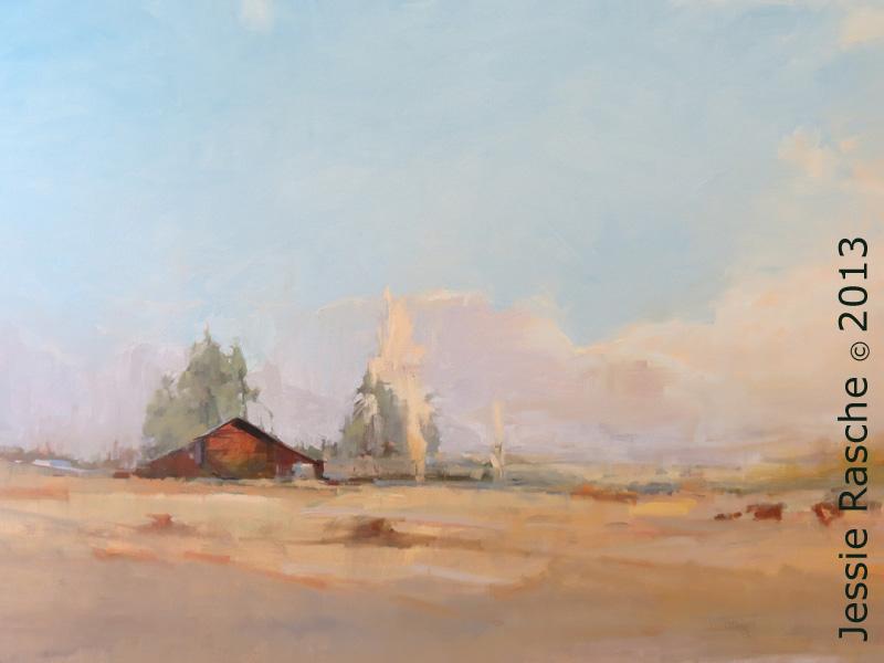 Hope-landscape painting