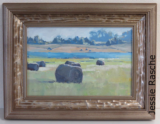 South Dakota Hills  8x12 in oil on panel Available at SouthWind Art Gallery 3074 SW 29th St, Topeka, KS 66614 (785) 273-5994