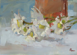 daisies- still life oil painting thumbnail