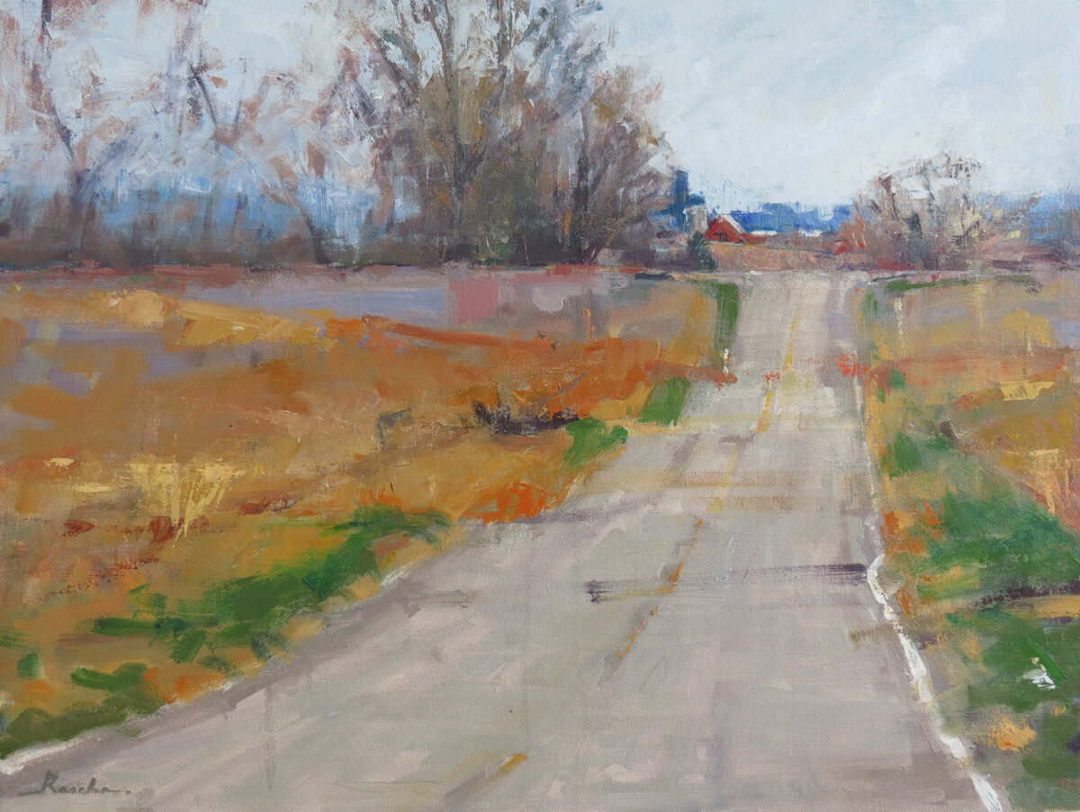 south dakota artist landscape painting